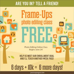 Free Photo Editing Class