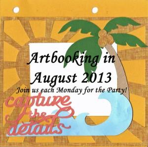 Artbooking in August Blog Badge