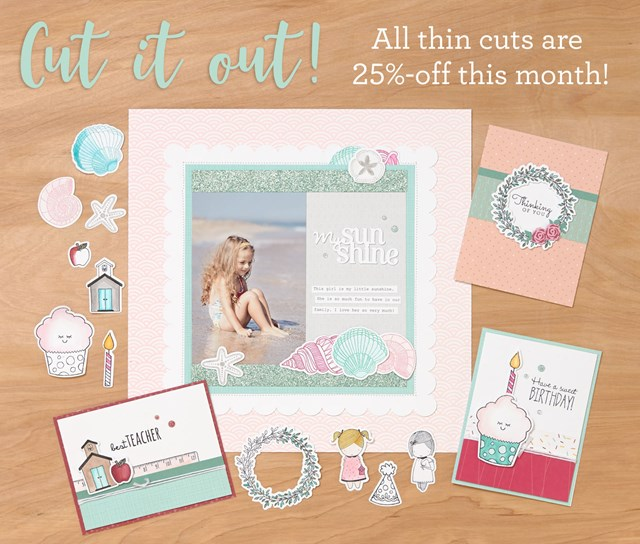 Save 25% on Thin Cuts Today!