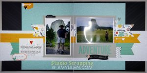 Dreamin' Big Blog Hop Layout 1
