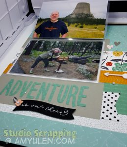 Dreamin' Big Blog Hop Layout 3