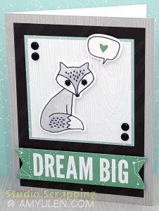Dreamin' Big Blog Hop Card 1