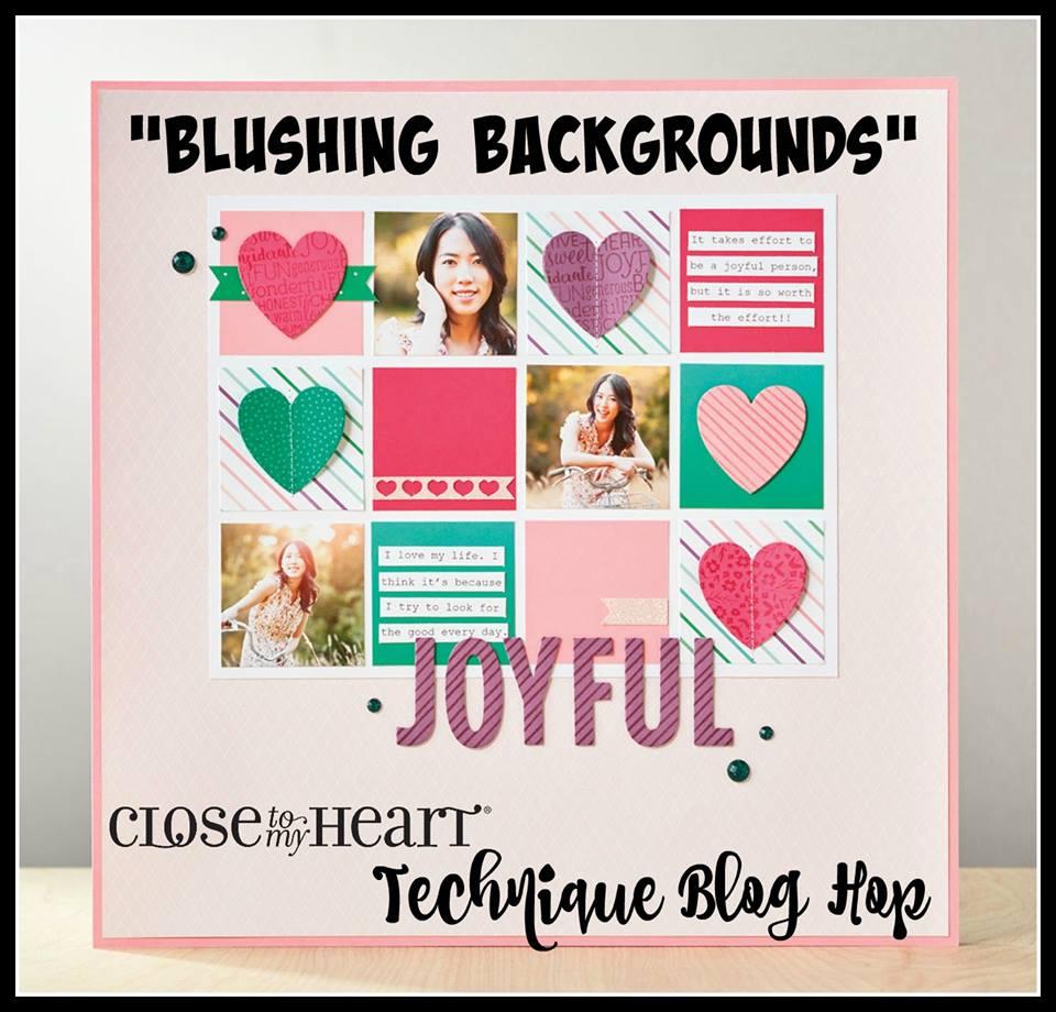 Background Stamp Technique