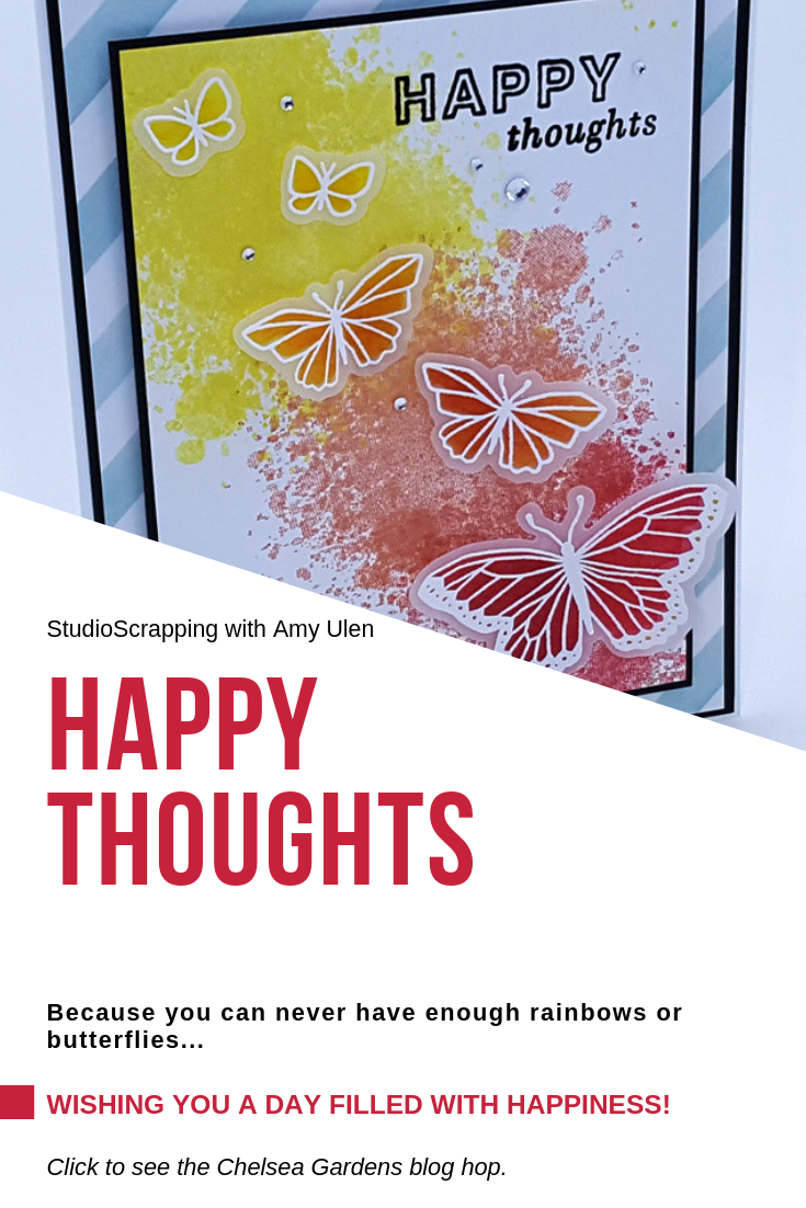 Happy Thoughts Pinterest Graphic