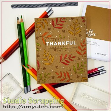 thanks & giving card