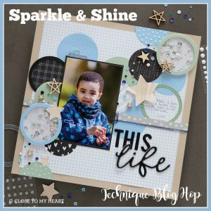 Sparkle & Shine Technique Blog Hop